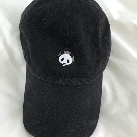 c3e327f61fc15 Black Panda Baseball Hat